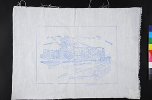Embroidery linen