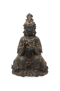 Statuette of Chinese Goddess Kuan Yin