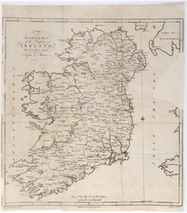 A New and Accurate Map of the Kingdom of Ireland from Actual Surveys