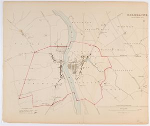 COLERAINE. / FROM THE ORDNANCE SURVEY.
