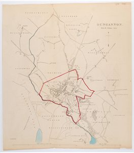 DUNGANNON / FROM THE ORDNANCE SURVEY.
