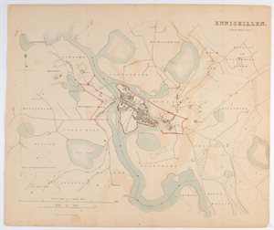 ENNISKILLEN / FROM THE ORDNANCE SURVEY