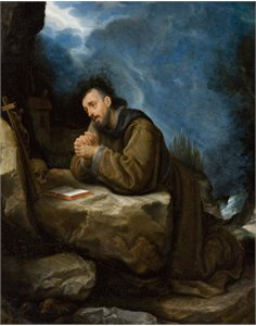St. Francis in Prayer