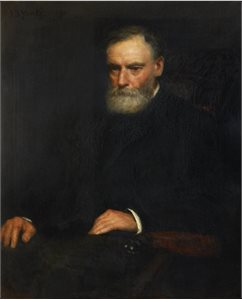 Portrait of Acheson T. Henderson, QC 1812-1909 (1891)