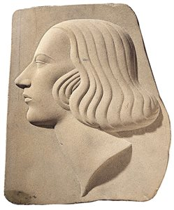 Head of a Woman in Profile (c.1939-40)
