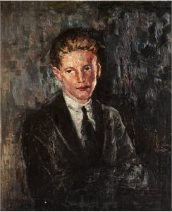 Portrait of a Red-haired Young Man