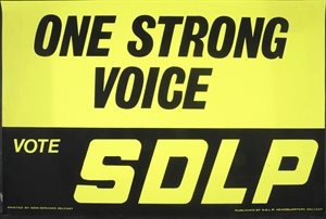 One Strong Voice / Vote SDLP