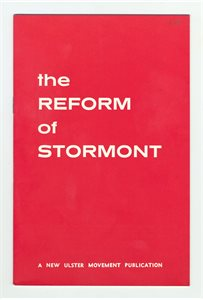 The Reform of Stormont