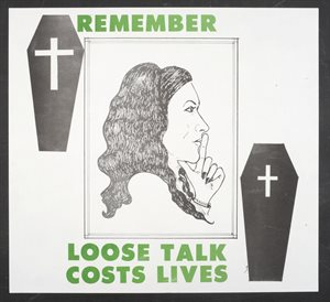 Remember Loose Talk Costs Lives
