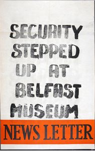 Security Stepped up at Belfast Museum