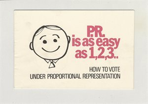 P. R. is as easy as 1, 2, 3..