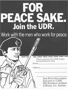 For Peace Sake - Join the UDR