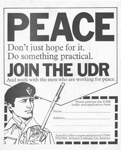 Peace - Join the UDR