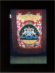 Banner, Amalgamated Society of Painters & Decorators
