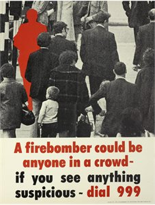 A Firebomber could be anyone in a crowd