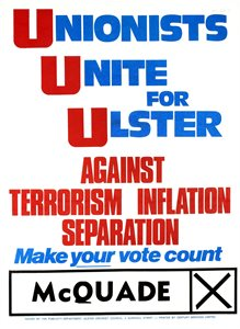 Unionists Unite for Ulster