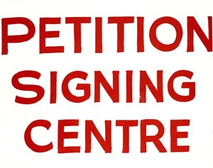 Petition Signing Centre