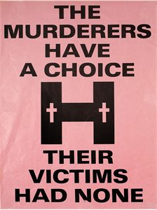 The Murderers have a Choice - Their Victims had None