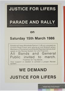 Justice For Lifers Parade and Rally