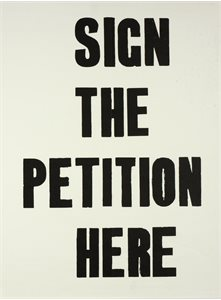 Sign the Petition Here
