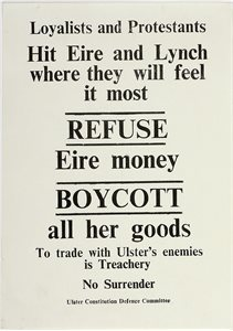 Refuse Eire Money - Boycott
