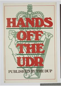 Hands off the UDR