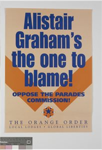 Alistair Graham's the one to Blame!