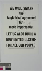 Let Us Also Build a New United Ulster