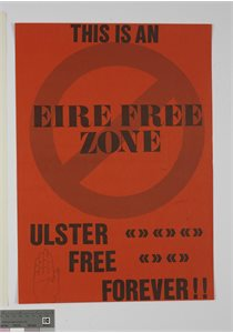 This is an Eire Free Zone