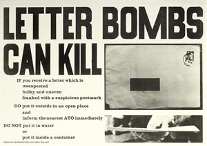 Letter Bombs Can Kill