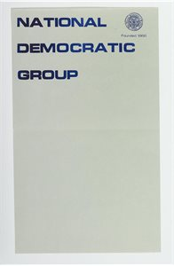 National Democratic Group