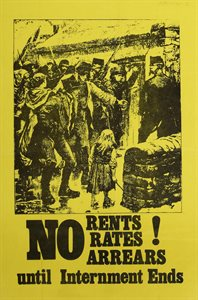 No Rents, Rates, Arrears until Internment Ends