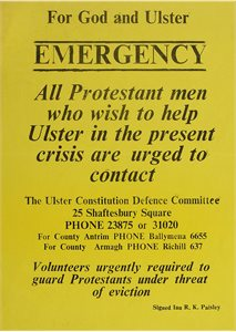 For God and Ulster - Emergency