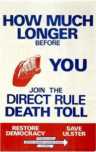 How Much Longer beofore you Join the Direct Rule Death Toll