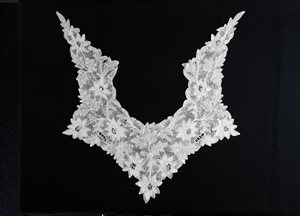 Collar, needlepoint lace
