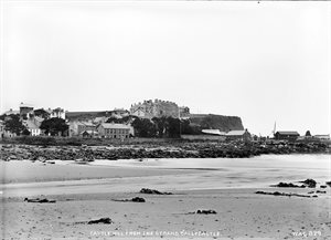 CASTLE HILL FROM THE STRAND, BALLYCASTLE
