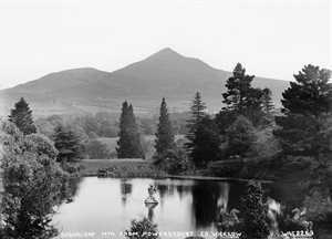 SUGARLOAF MOUNTAIN. FROM POWERSCOURT, CO. WICKLOW