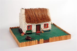 Model of a traditional Irish cottage