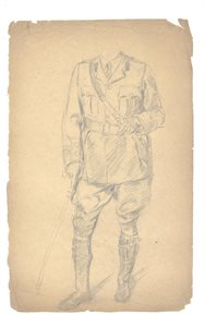 Figure Study of Soldier