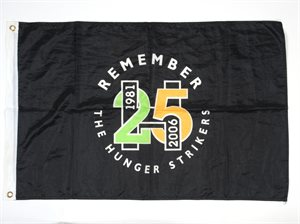 Commemorative Flag, Hunger Strike