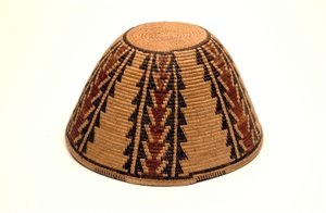 Hat : basketwork