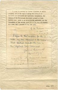 Surrender Document 1916