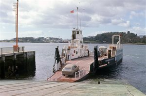 Industry Transport Strangford Ferry Down