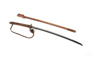 Sword : Samurai : and sheath
