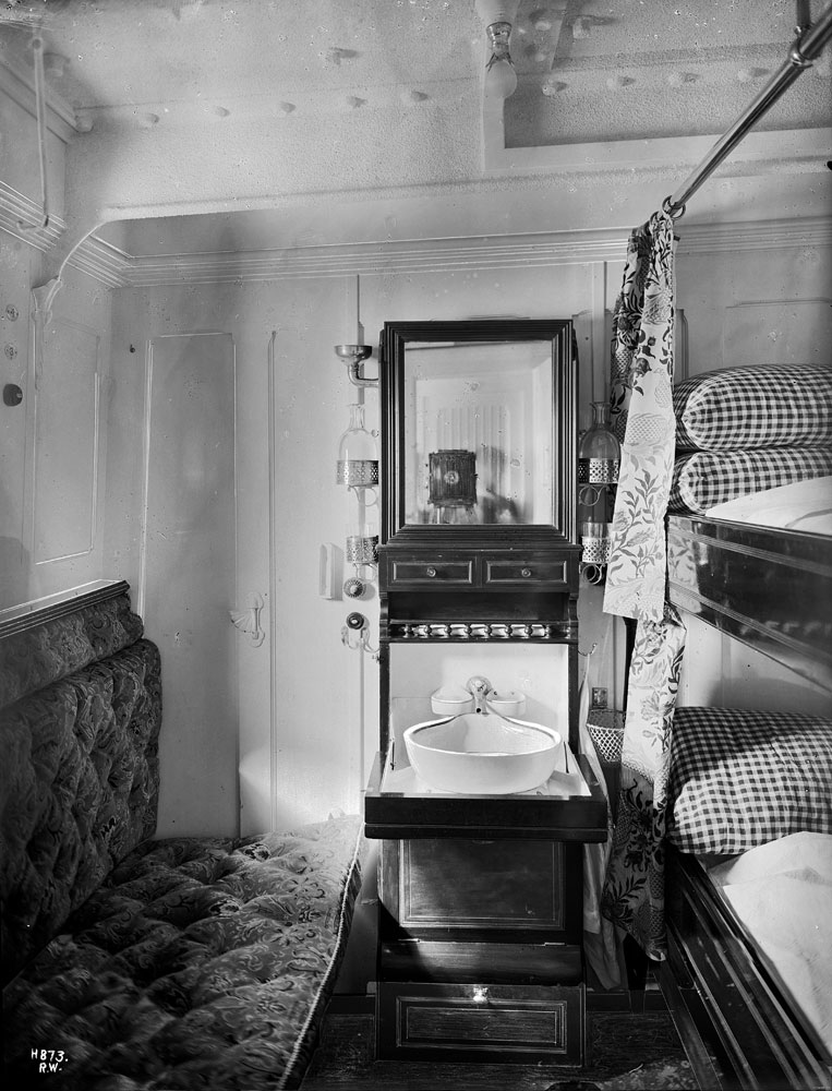 Baltic - Second class cabin, Harland and Wolff Collection  © National Museums Northern Ireland